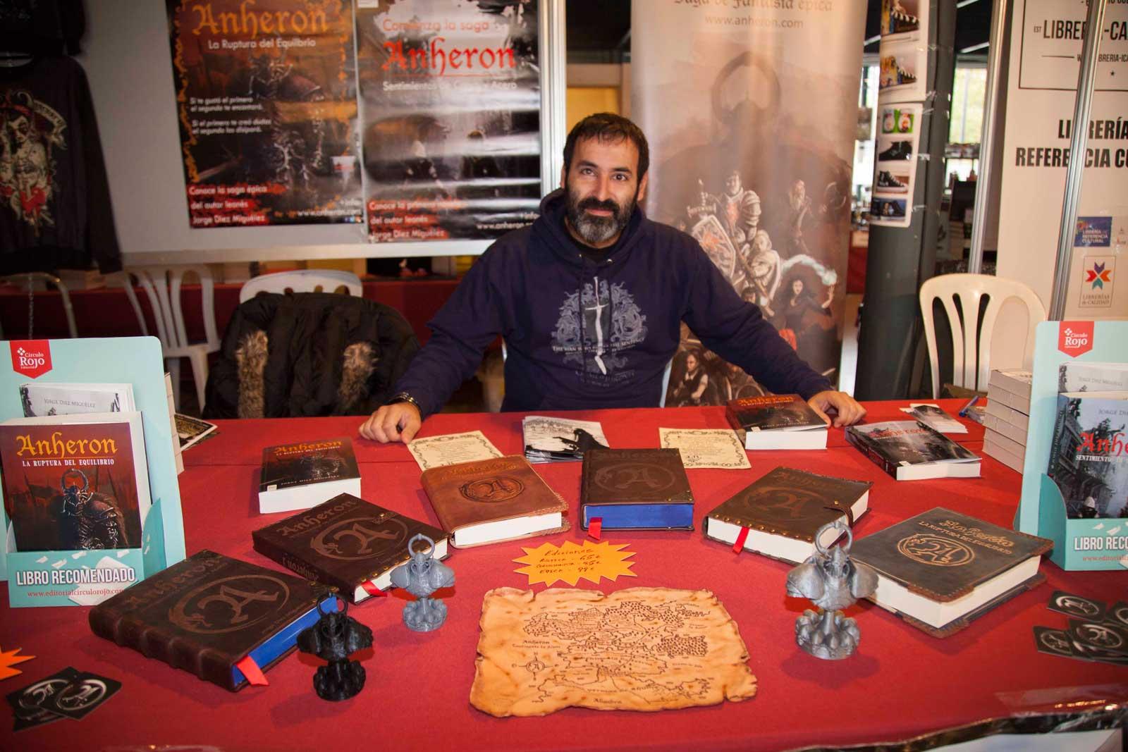 Jorge Diez Miguélez, autor de Anheron