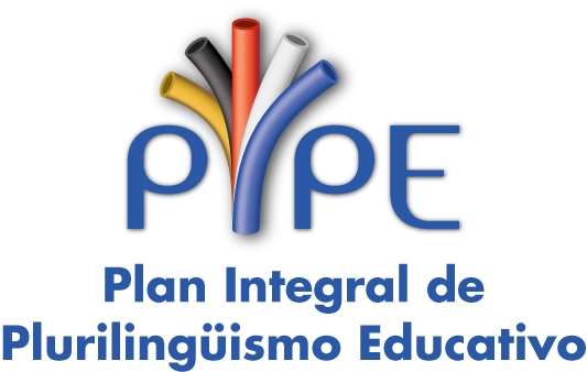 Logo Plan PIPE (Plan Integral de Plurilingüismo Educativo)