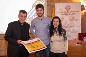 Israel Peralta y Carmen de la Concepción, del Colegio Medalla Milagrosa (Zamora)
