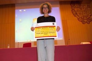 Susana Molina, del Colegio Sagrado Corazón La Anunciata de Valladolid.