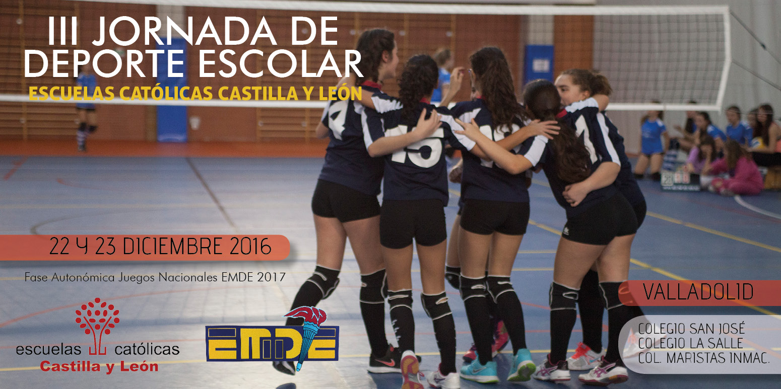 III Jornada de Deporte Escolar Escuelas Católicas Castilla y León