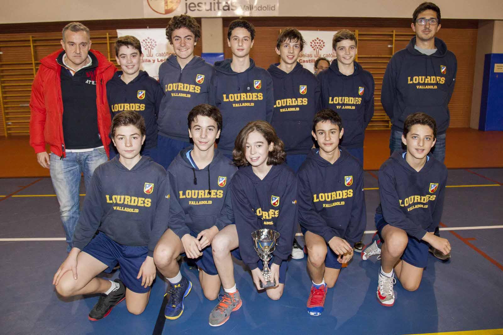 Colegio Lourdes (Valladolid), ganador en baloncesto masculino