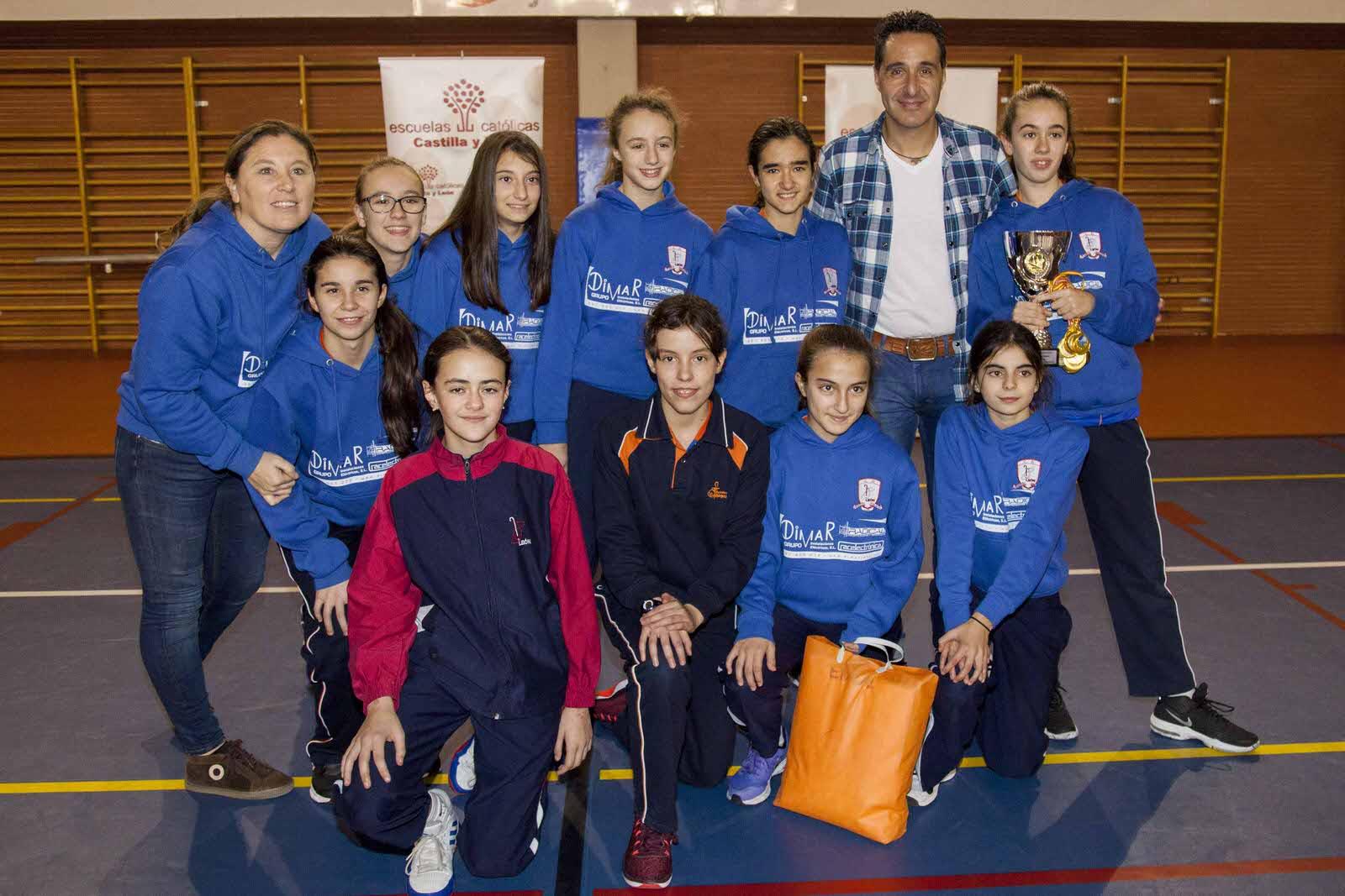 Colegio Divina Pastora (León), ganador en baloncesto femenino