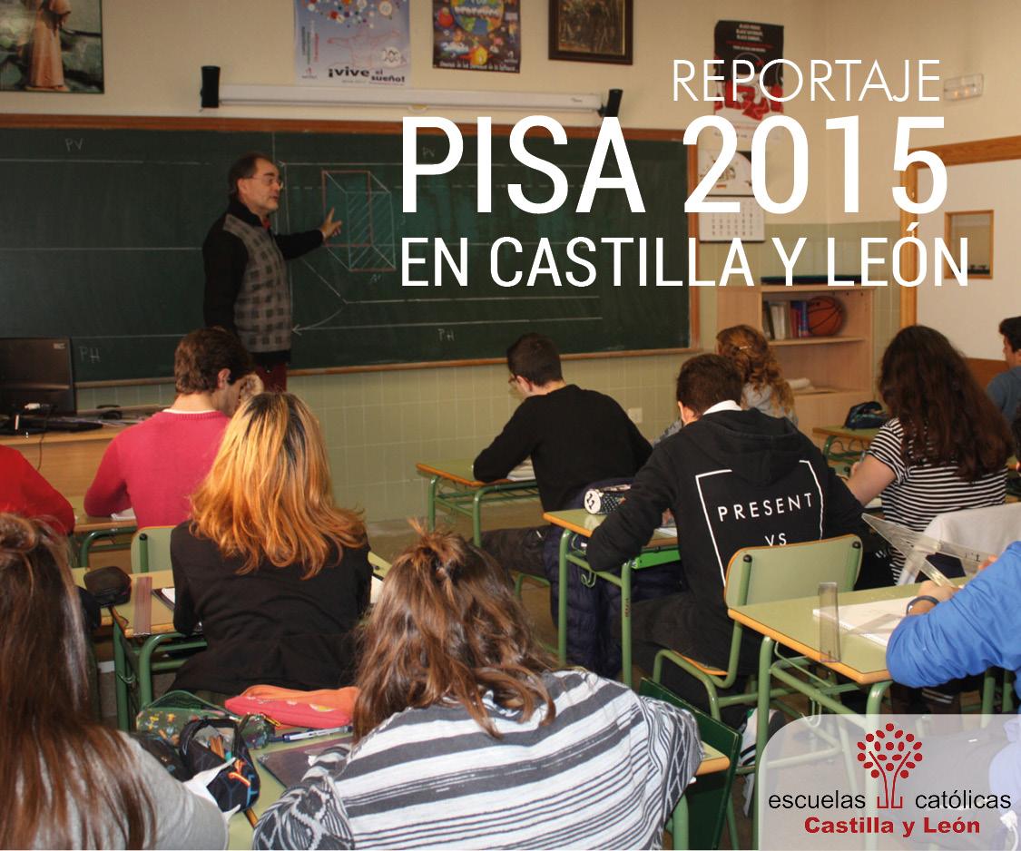 Reportaje PISA 2015 en Castilla y León