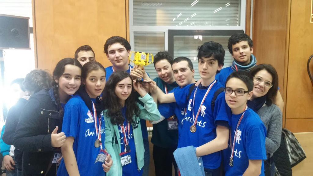 Premio a los valores para el equipo del Colegio Marista Salamanca.