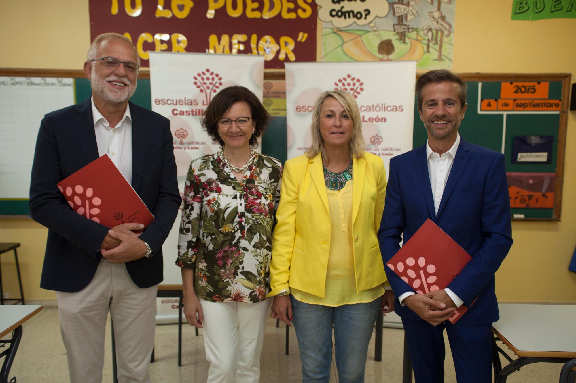 Escuelas Católicas Castilla y León presentación curso 2015-2016