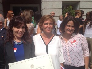 El Colegio Cristo Rey recibe el Premio Vicente Ferrer.