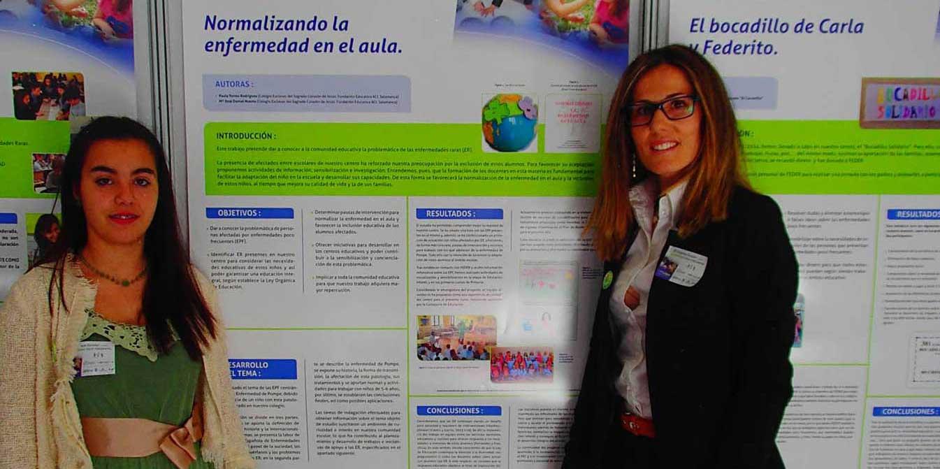 Proyecto 'Normalizando la enfermedad en el aula', del Colegio Esclavas del Sagrado Corazón de Jesús (Salamanca)