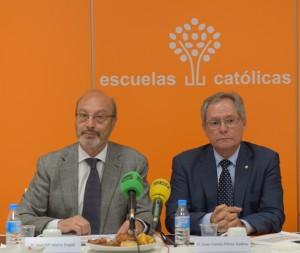 José Mª Alvira y Juan Carlos Pérez Godoy, secretario general y presidente de EC