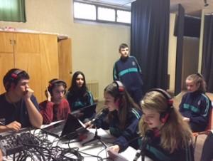 Radio escolar del Colegio Santísimo Rosario de Ávila