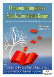 Encuentro Educadores Escuelas Católicas Burgos 2017