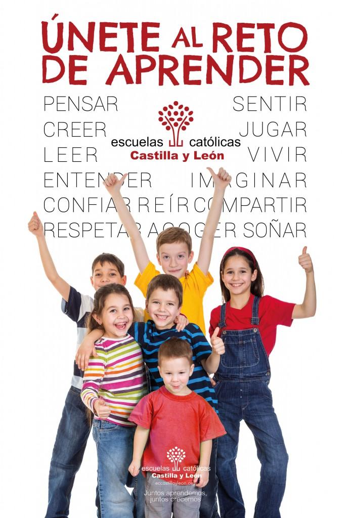Campaña escolarización Escuelas Católicas Castilla y León 2017
