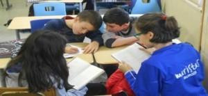 Colegio Liceo Castilla Burgos trabajo cooperativo eso