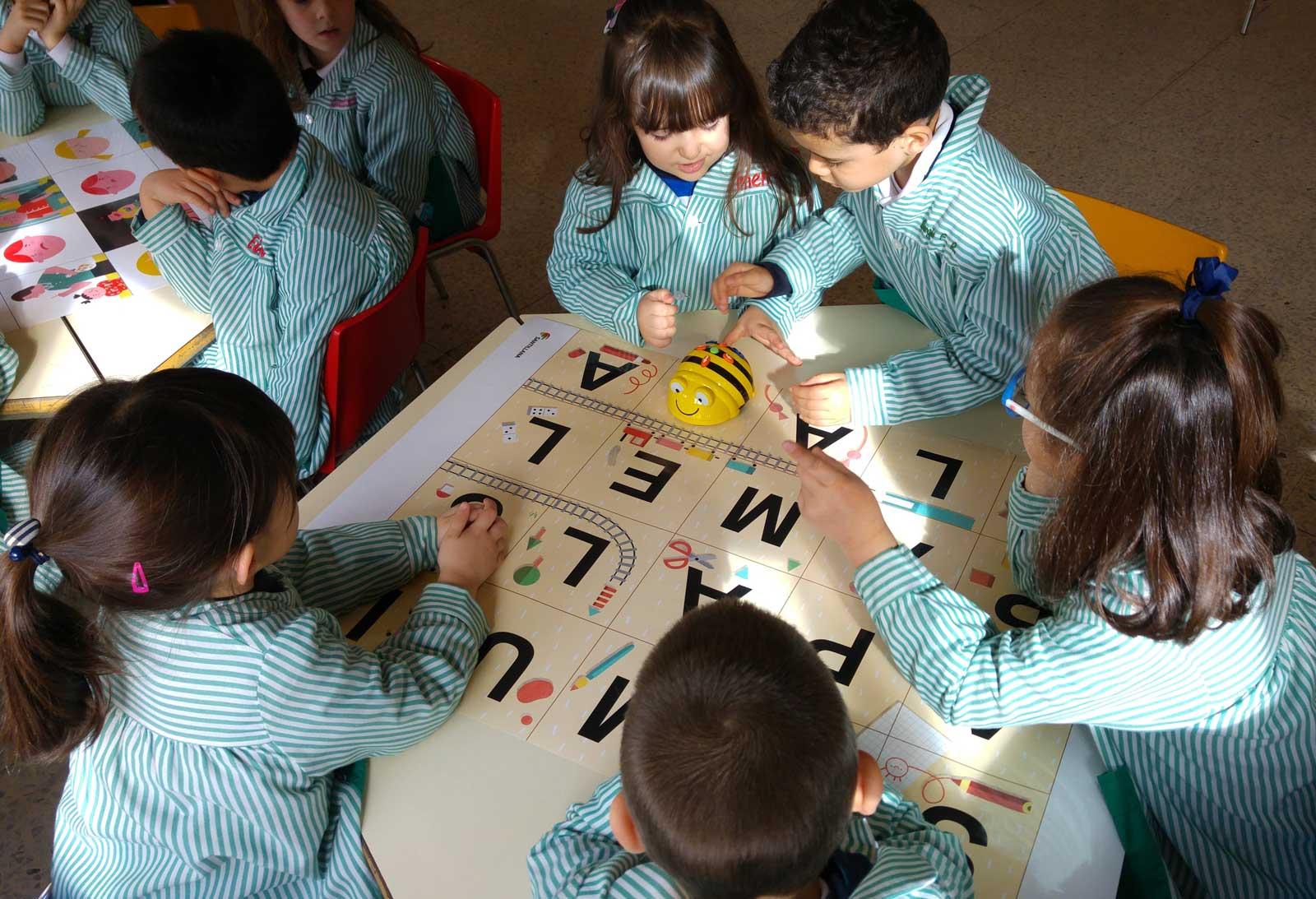 Robótica en Infantil en el Colegio La Asunción de Ponferrada.