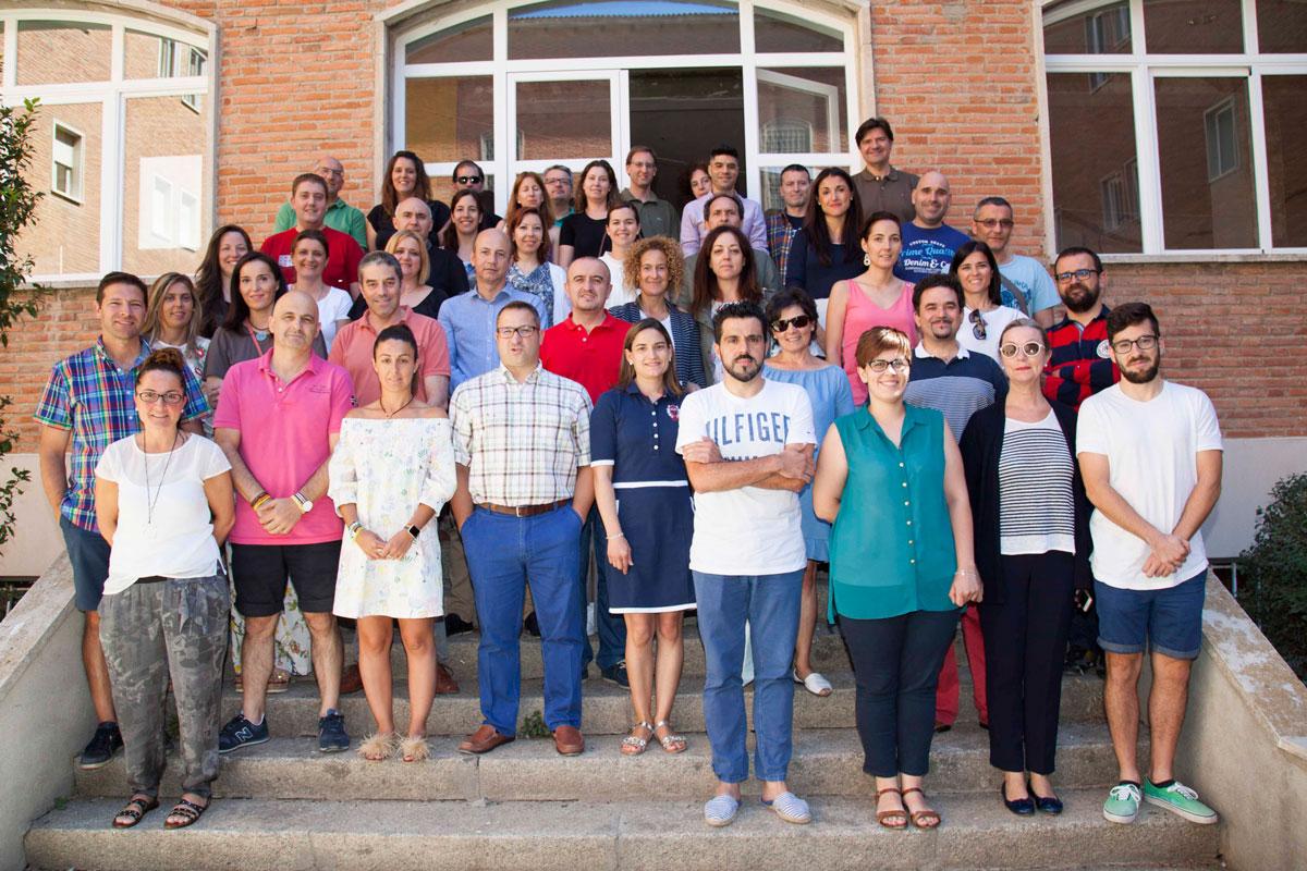 Alumnos del Posgrado en Innovación, Metodología Docente y Evaluación aplicada a la Educación de Escuelas Católicas Castilla y León