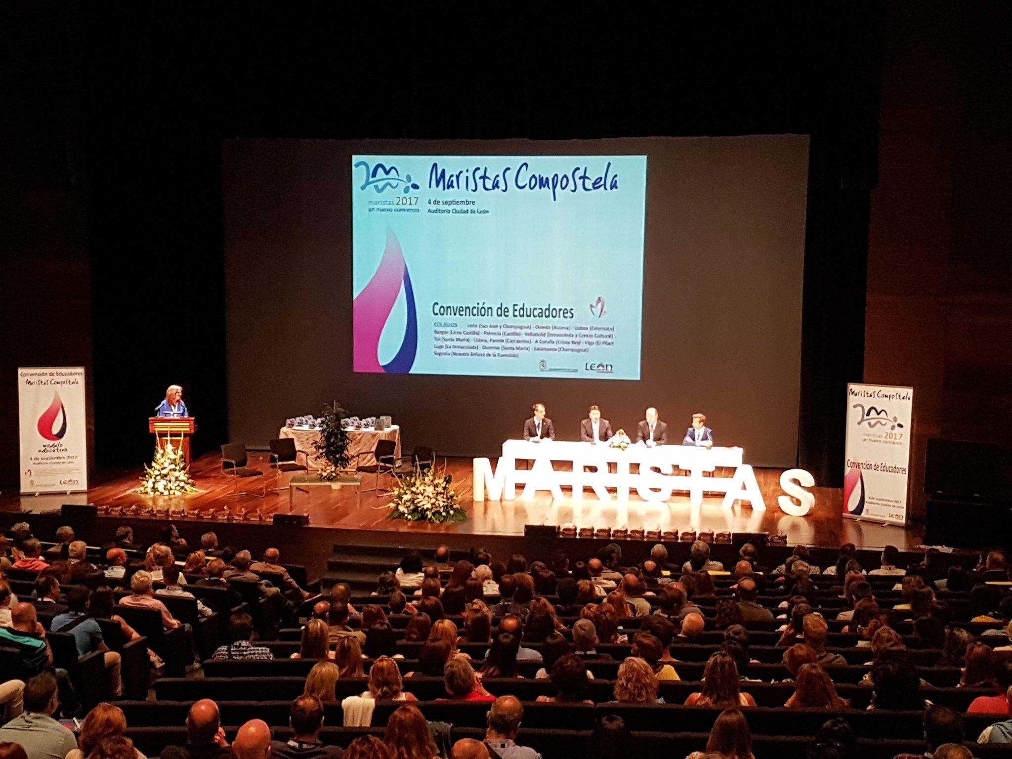 Convención Maristas Compostela en León