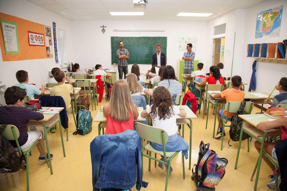 Inauguración del curso 2017-2018 en el Colegio Nuestra Señora del Pilar (Valladolid)