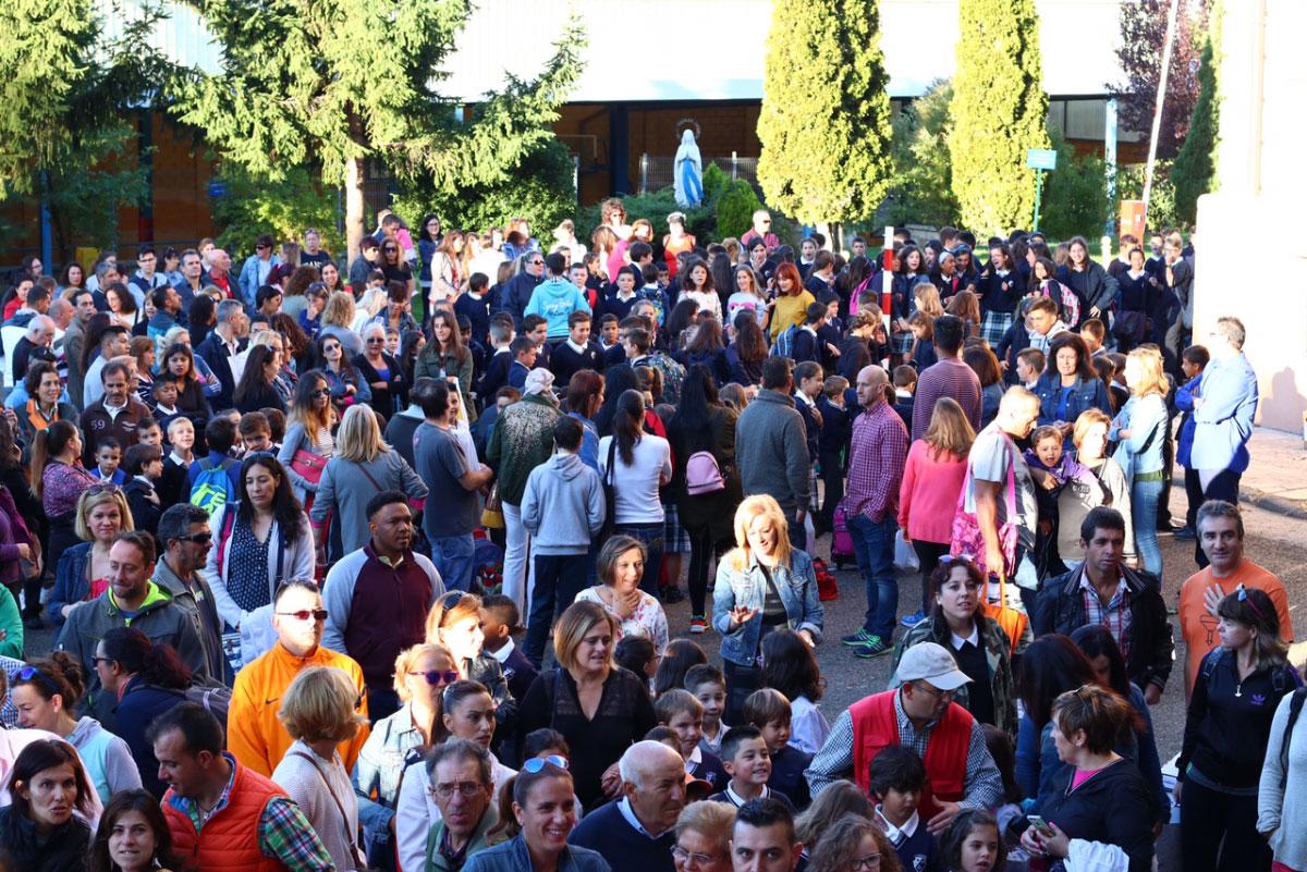 Inicio del curso 2017-2018 en el Colegio La Asunción (León)