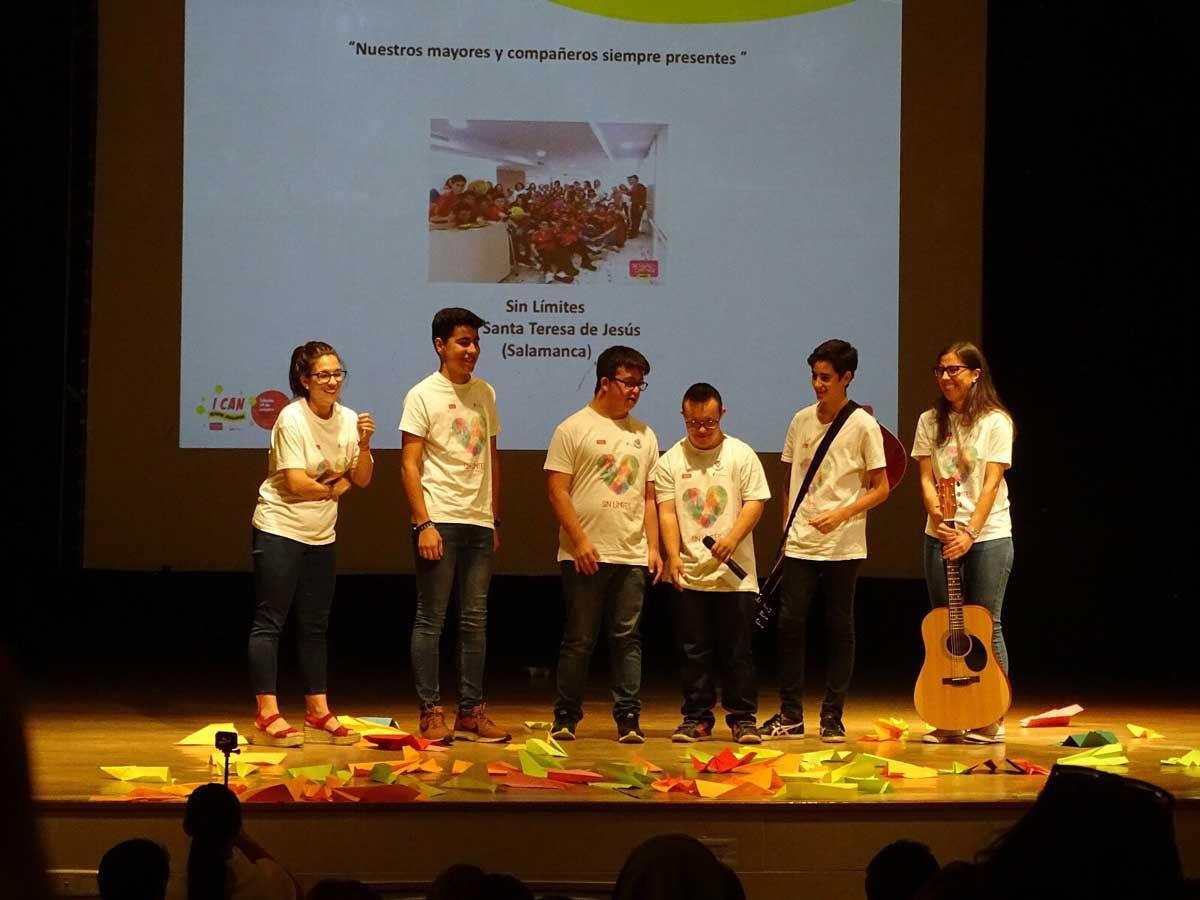 Gala 'I Can School Challenge', cuando el proyecto fue nombrado representante de España en la Gala Internacional BTC 2017