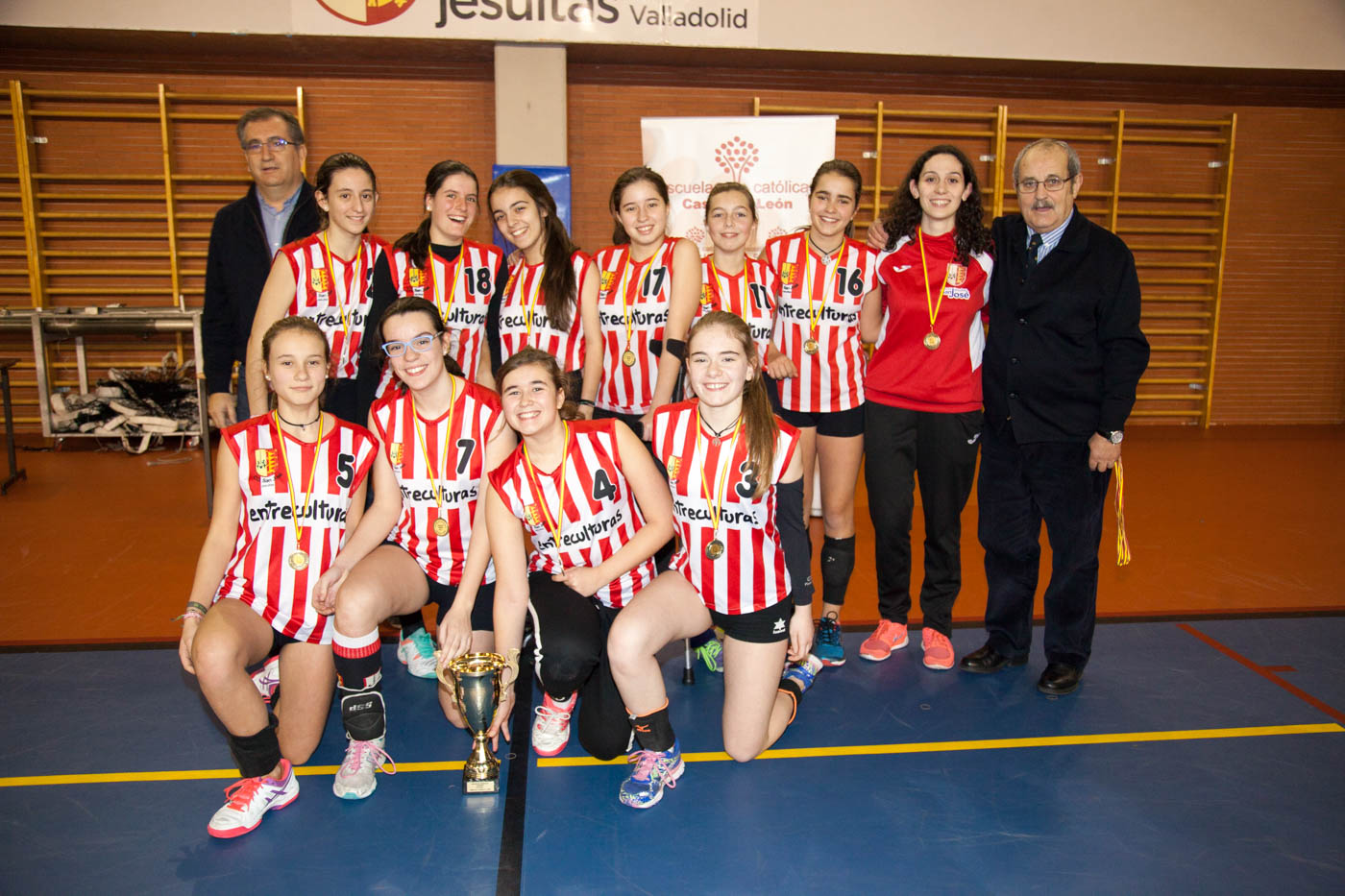 Colegio San José (Valladolid), campeón de voleibol femenino