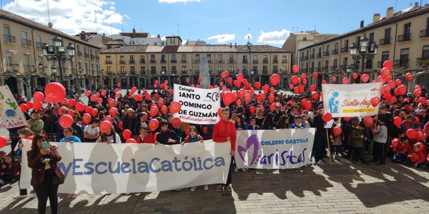 Día de Escuelas Católicas Castilla y León 2019, celebración del proyecto educativo común