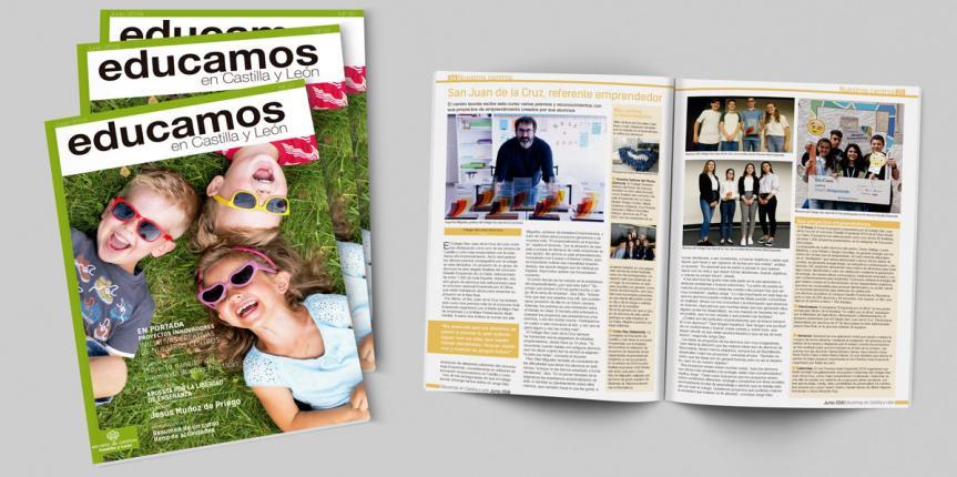 Revista 'Educamos en Castilla y León' número 37, junio 2018