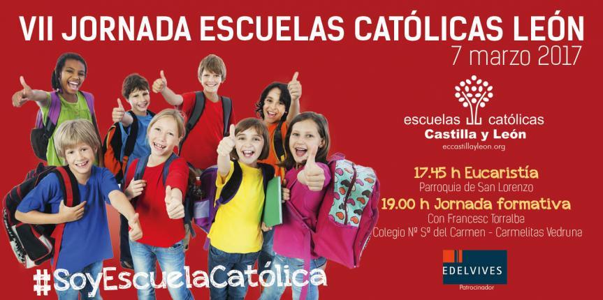 Los centros concertados de León celebran el 7 de marzo la séptima edición de la Jornada Escuelas Católicas León