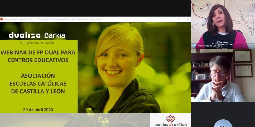 Taller online sobre FP Dual con la Fundación Bankia