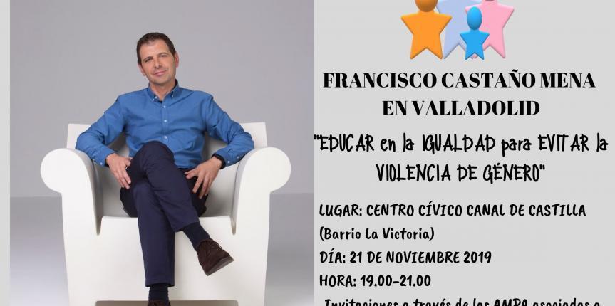 FECAMPA Valladolid organiza la charla 'Educar en la igualdad para evitar la violencia de género'