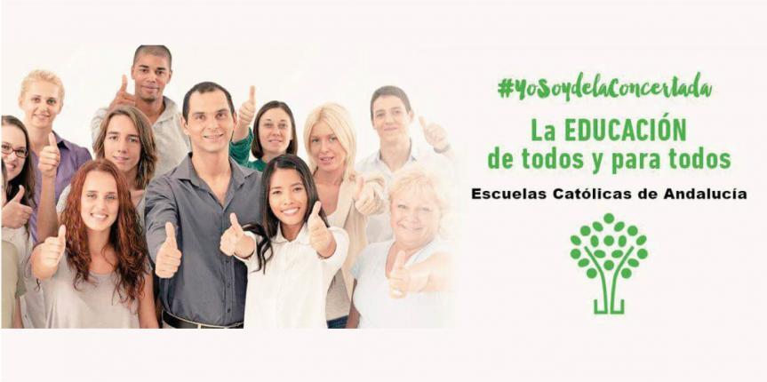 La Concertada de Andalucía se manifestará en Sevilla el 1 de abril contra el cierre de aulas