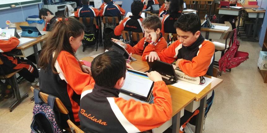 Colegio Saldaña (Burgos): En proceso de transformación