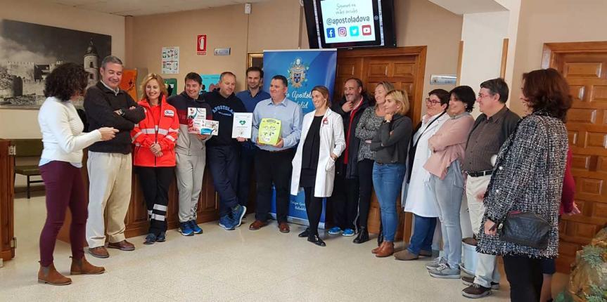 El Colegio Apostolado (Valladolid) se convierte en espacio cardioprotegido