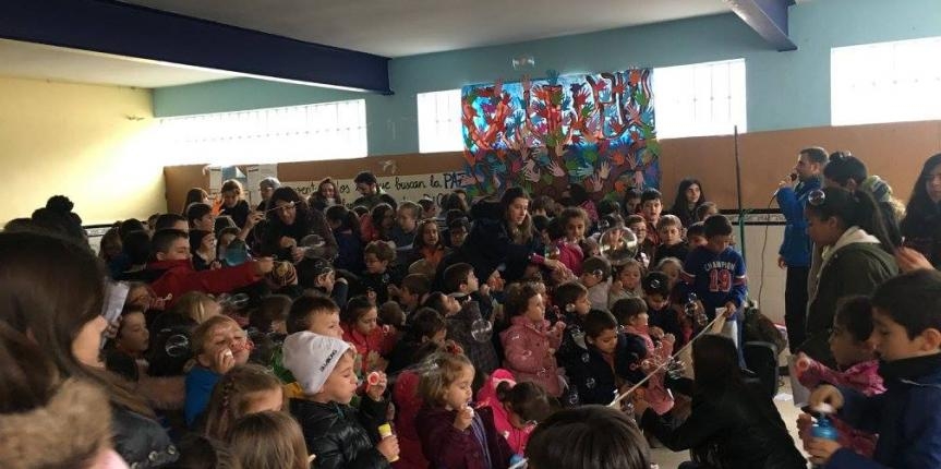 Día de la Paz en el Colegio Divina Pastora de Arenas de San Pedro (Ávila)
