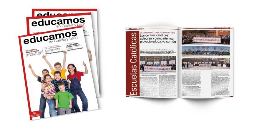 Revista 'Educamos en Castilla y León' número 33, abril 2017