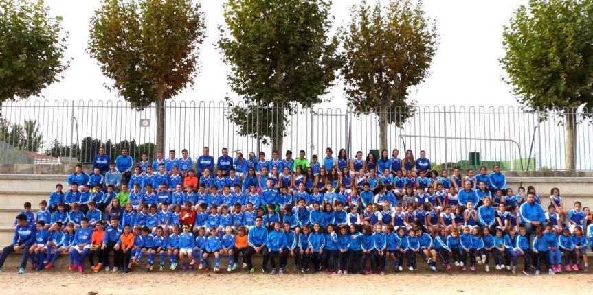 El Colegio San Agustín (Salamanca) presenta sus equipos deportivos