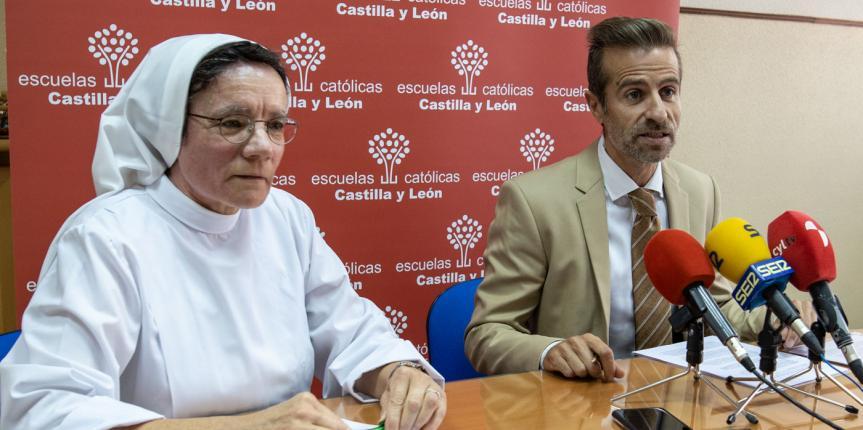 Los centros de Escuelas Católicas en Palencia arrancan el curso con 7.319 alumnos en sus aulas