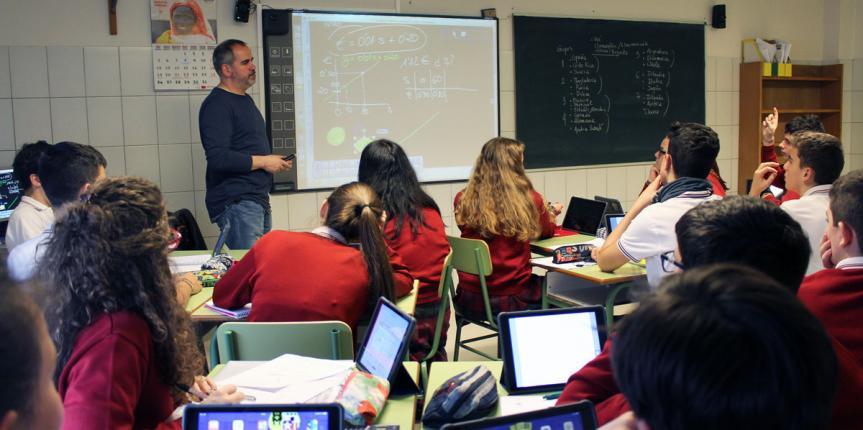 Colegio La Merced y San Francisco Javier (Burgos): Innovación sin miedo en Jesuitas