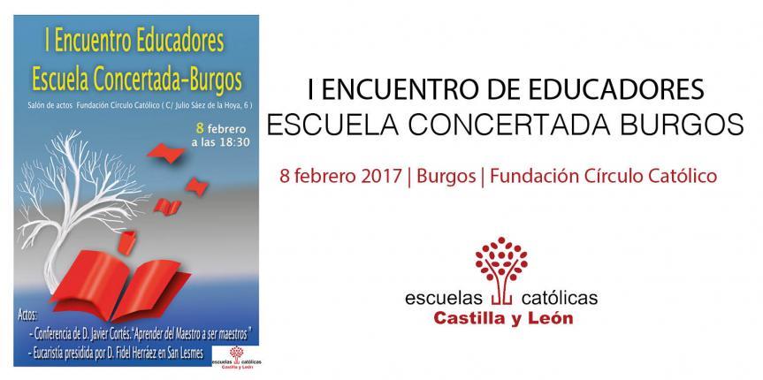 Los centros educativos católicos burgaleses celebran su primer Encuentro de Educadores de la Escuela Católica de Burgos