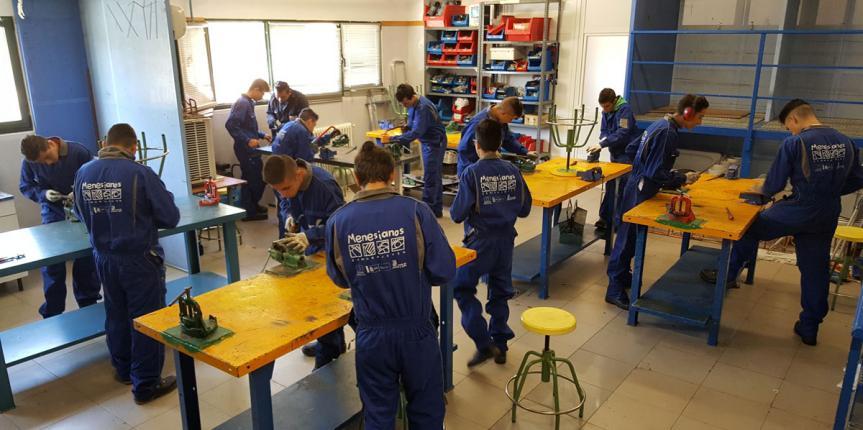 La FP en los centros Menesianos de Castilla y León: Cada alumno es único