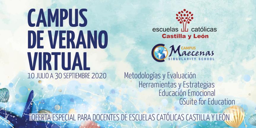 Arranca el Campus de Verano Virtual de Escuelas Católicas Castilla y León