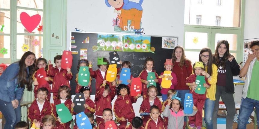 'Monta tu puzle de las emociones' en las Jornadas de Inclusión del Colegio Maestro Ávila (Salamanca)