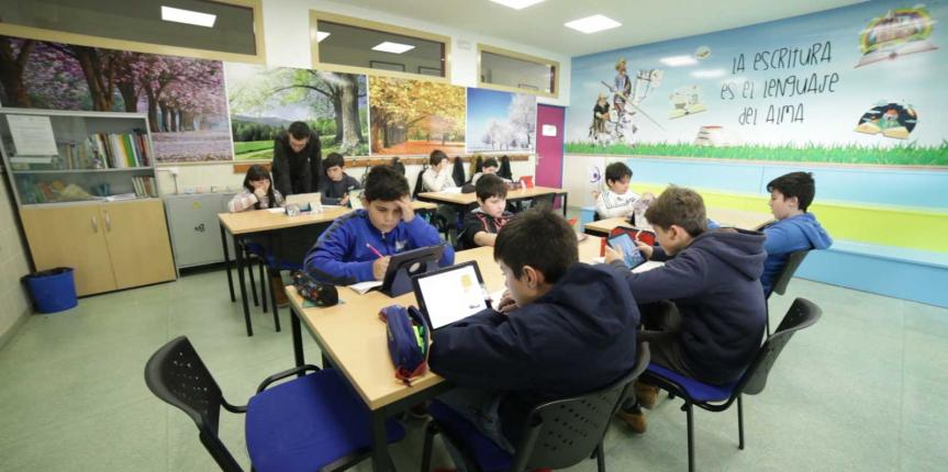 Los 19 centros palentinos de Escuelas Católicas Castilla y León inician el curso con 7.103 alumnos en sus aulas