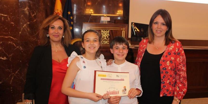 El Colegio San José (Zamora) recibe el Premio Arquímedes a la labor de investigación científica en el aula 2019