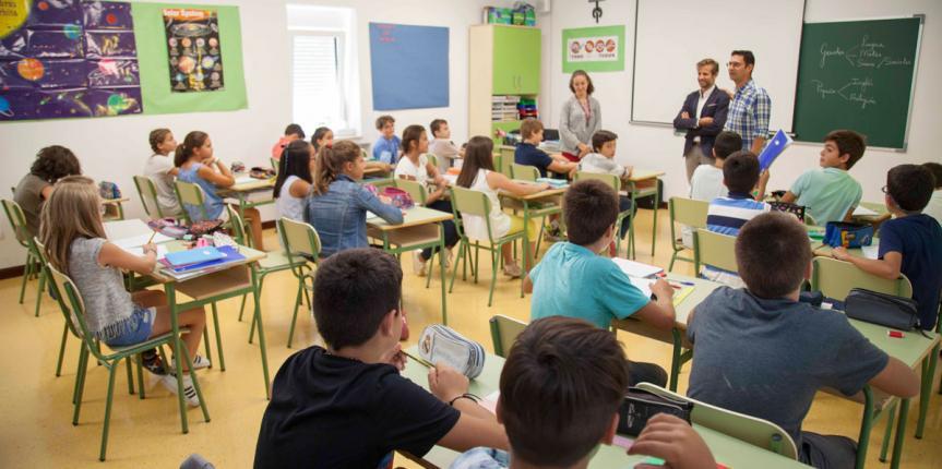 Los centros educativos concertados de Escuelas Católicas Castilla y León comienzan el nuevo curso 2017-2018 en Infantil y Primaria