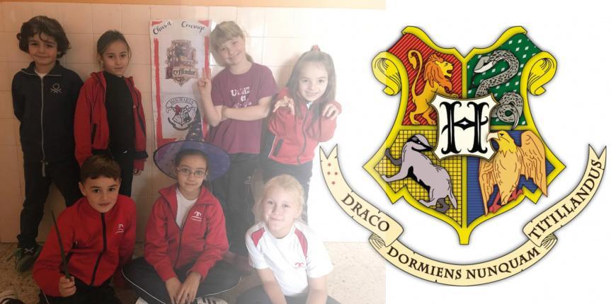 Alumnos del Colegio Claret (Segovia) participan en un proyecto europeo con Harry Potter como protagonista