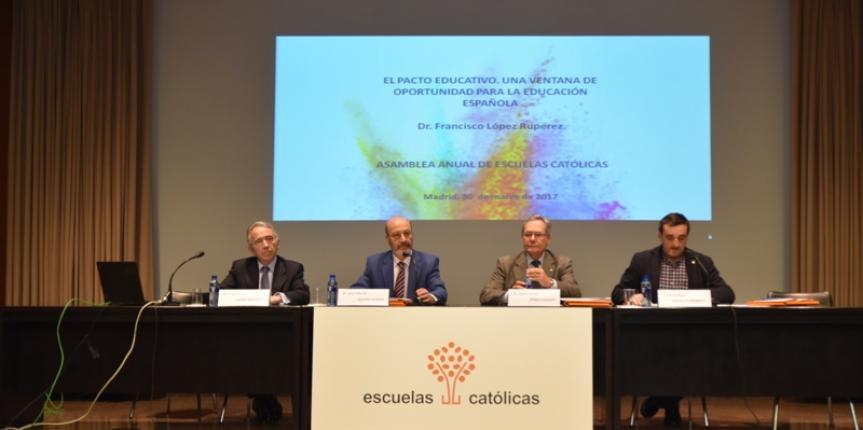 Escuelas Católicas reitera la necesidad de respaldo y reconocimiento de la enseñanza concertada