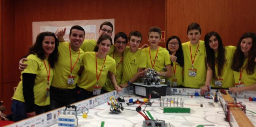 Marista Castilla (Palencia) vence en el Torneo First Lego League de robótica