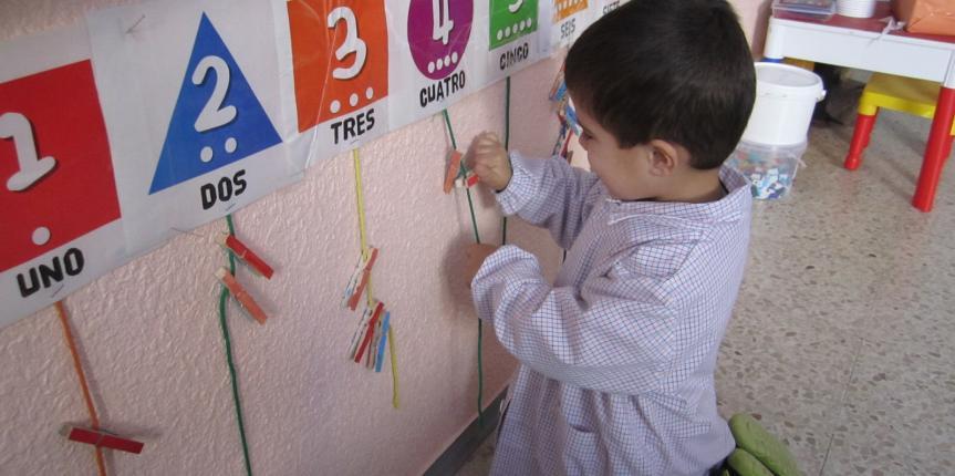 Matemáticas divertidas en el Colegio San Miguel (Roa de Duero): método ABN