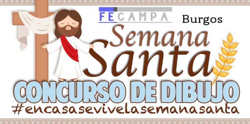 Concurso de dibujo de Semana Santa de FECAMPA Burgos