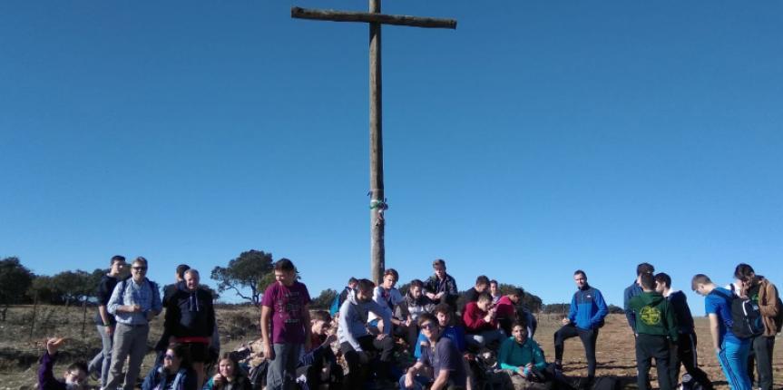 Los alumnos de Salesianos Burgos se ponen en marcha